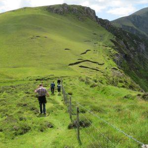 Hiking on Clare Island