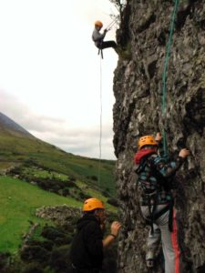 Transition Year Climbing & Abseiling