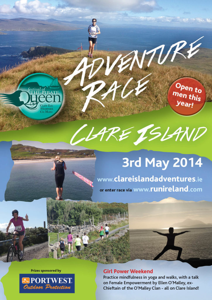 Adventure Race A4 poster