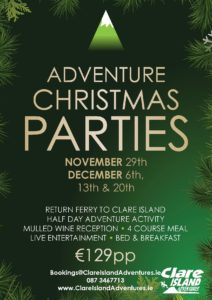 Fancy an Adventurous Christmas Party?
