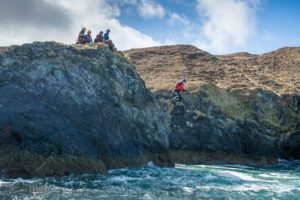 Coasteering jump small size