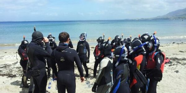 Schools and Colleges, snorkelling school tour, Clare Island Adventures
